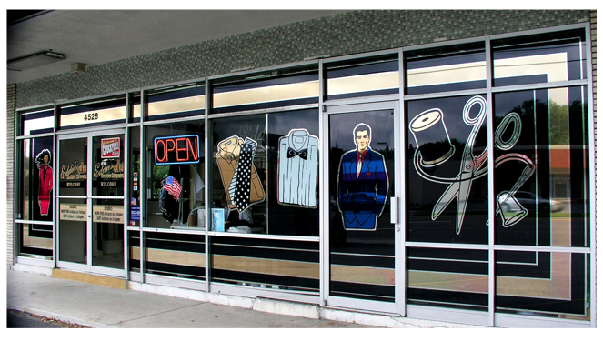 Solar Graphics Colored Film Decorative Window Graphics