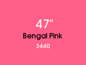 Bengal Pink 3440 Colored Window Film for Architectural Glass Design