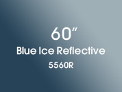 Blue Ice Reflective 5560R Colored Window Film for Architectural Glass Design