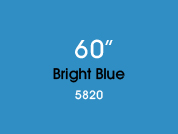 Bright Blue 5820 Colored Window Film for Architectural Glass Design