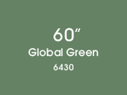 Global Green 6430 Colored Window Film for Architectural Glass Design