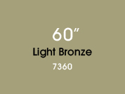 Light Bronze 7360 Colored Window Film for Architectural Glass Design