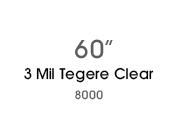 3 Mil Tegere Clear 8030
