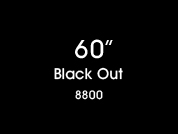 Black Out 8800 Opaque Window Film for Glass Application
