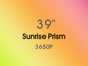 Sunrise Prism 3650P Colored Window Film for Architectural Glass Design