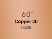 Copper 20 7420R Colored Window Film for Architectural Glass Design