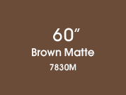 Brown Matte 7830M Colored Etched Window Film for Architectural Glass Design