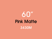 Pink Matte 3430M Colored Etched Window Film for Architectural Glass Design