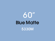 Blue Matte 5330M Colored Etched Window Film for Architectural Glass Design