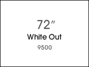 White Out 9500 Opaque Window Film for Glass Application - 72 in