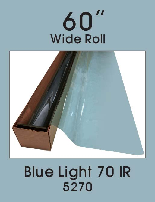 "Blue Light 70 IR 60"" - 5270 - Colored Window Film"