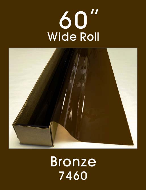 "Bronze 60"" - 7460 - Colored Window Film"
