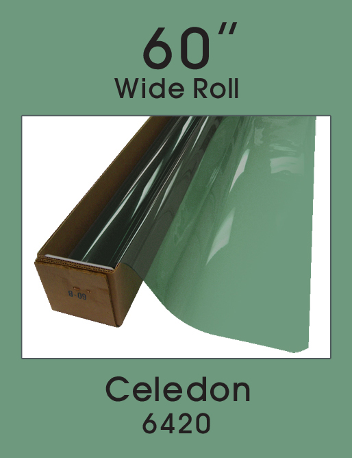 "Celedon 60"" - 6420 - Colored Window Film"