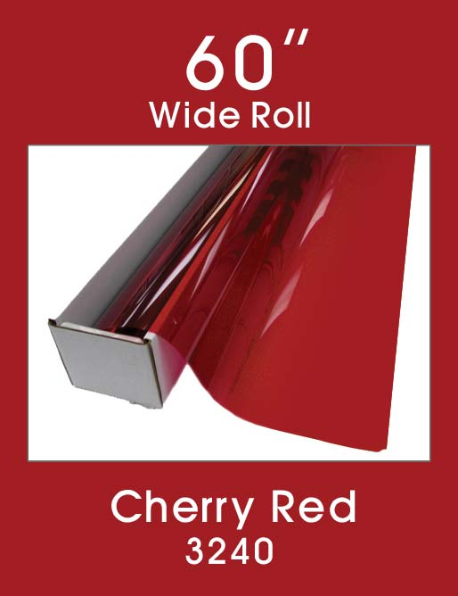 "Cherry Red 60"" - 3240 - Colored Window Film"