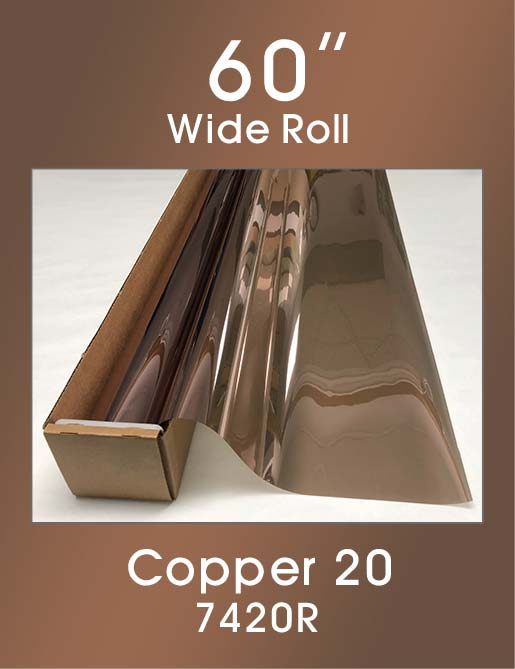 "Copper 20 - 60"" - 7420R - Colored Window Film"