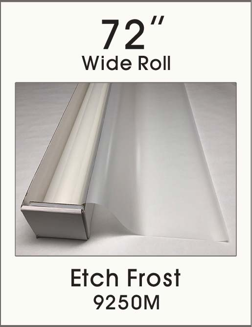 "Etch Frost - 72"" - 9250M - Colored Window Film"