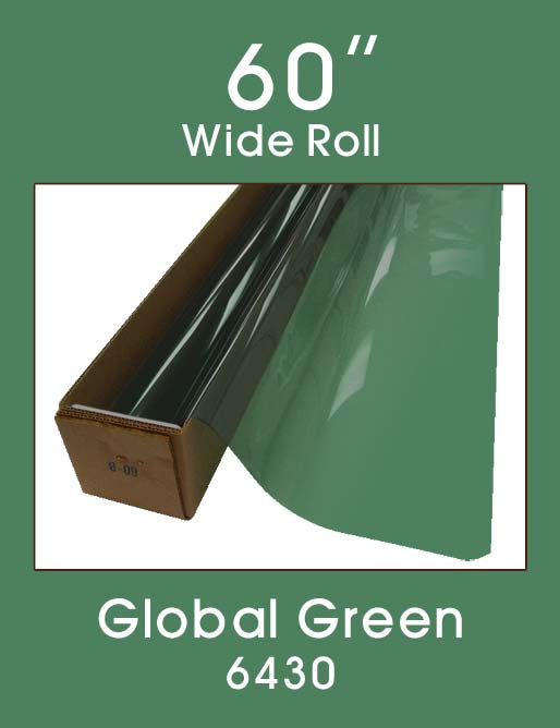 "Global Green 60"" - 6430 - Colored Window Film"