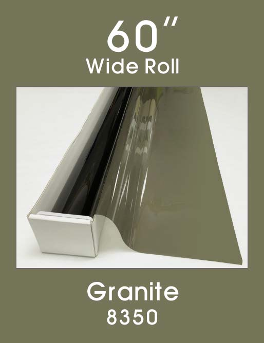 "Granite 60"" - 8350 - Colored Window Film"