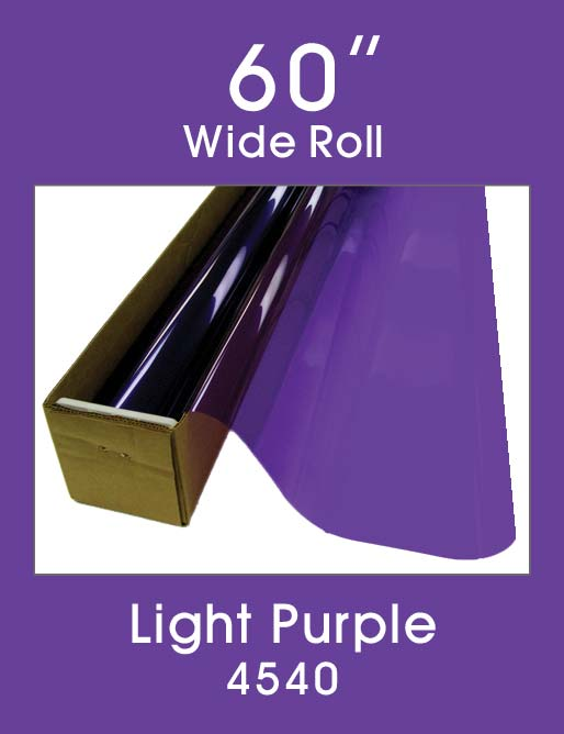 "Light Purple 60"" - 4540 - Colored Window Film"