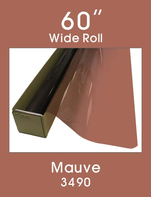 "Mauve 60"" - 3490 - Colored Window Film"