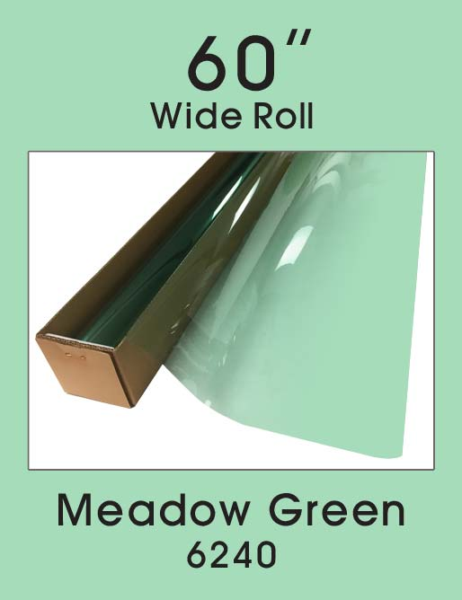 "Meadow Green 60"" - 6240 - Colored Window Film"