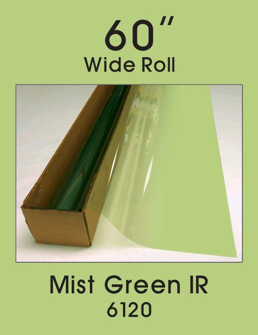 "Mist Green IR 60"" - 6120 - Colored Window Film"