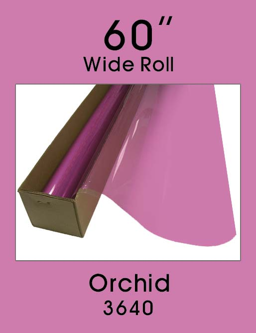 "Orchid 60"" - 3640 - Colored Window Film"