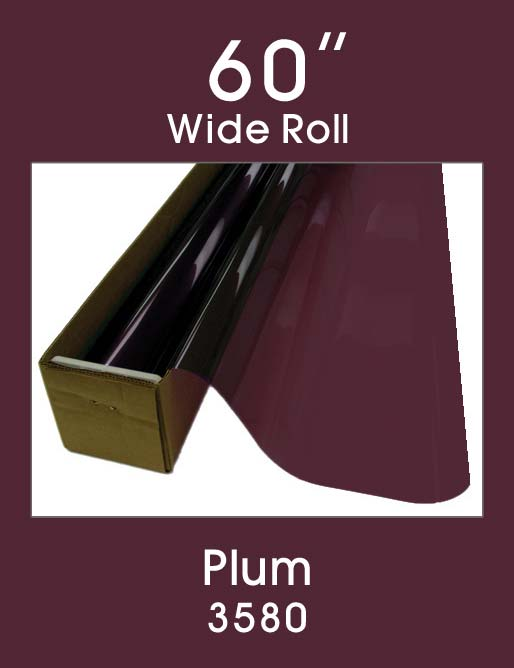 "Plum 60"" - 3580 - Colored Window Film"