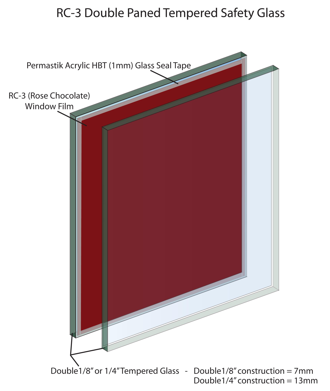 Vivarium Red Glass RC 3