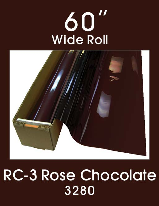 "RC-3 Rose Chocolate 60"" - 3280 - Specialty Medical Window Film"