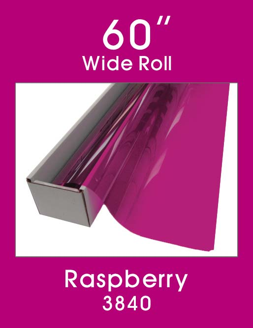 "Raspberry 60"" - 3840 - Colored Window Film"