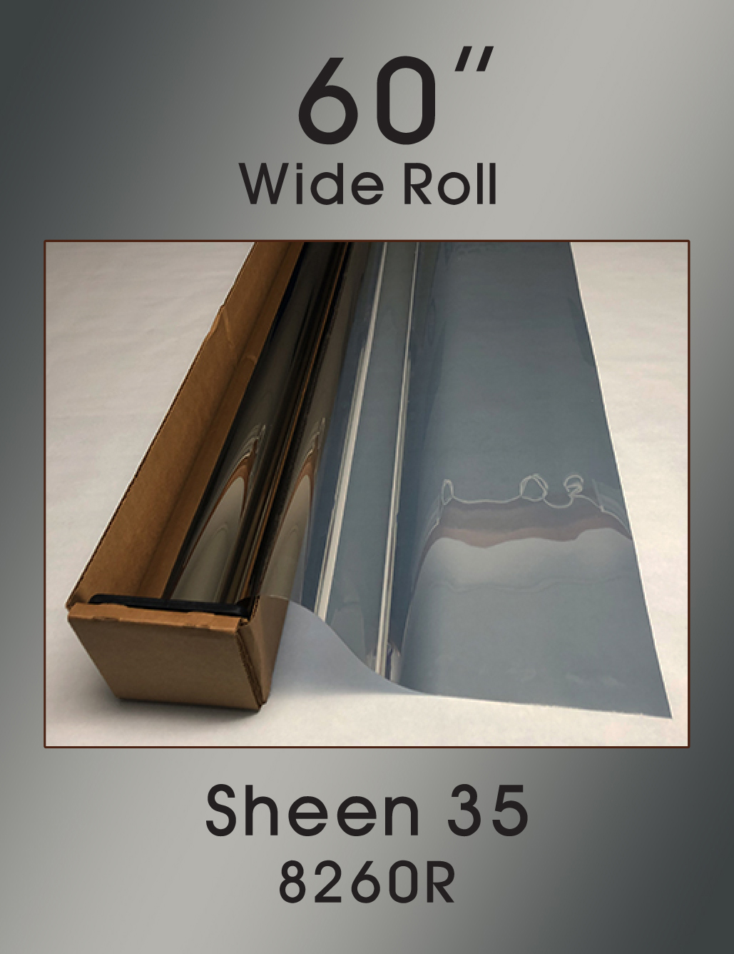 "Sheen 35 - 60"" - 8240R - Colored Window Film"