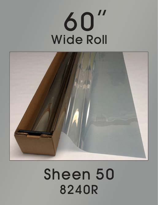 "Sheen 50 - 60"" - 8240R - Colored Window Film"