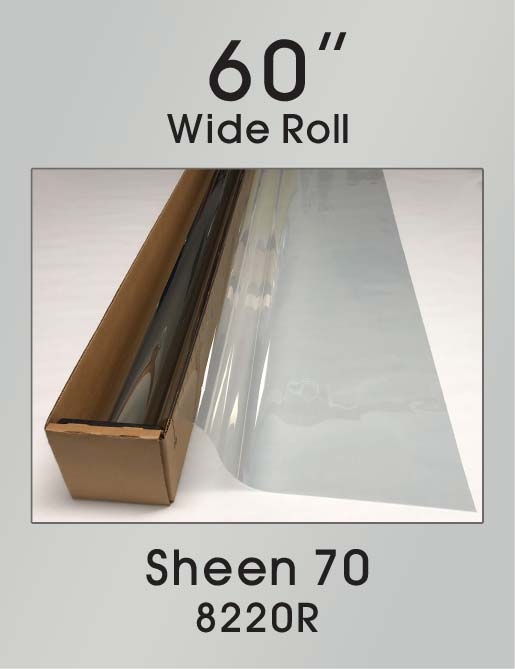 "Sheen 70 - 60"" - 8220R - Colored Window Film"