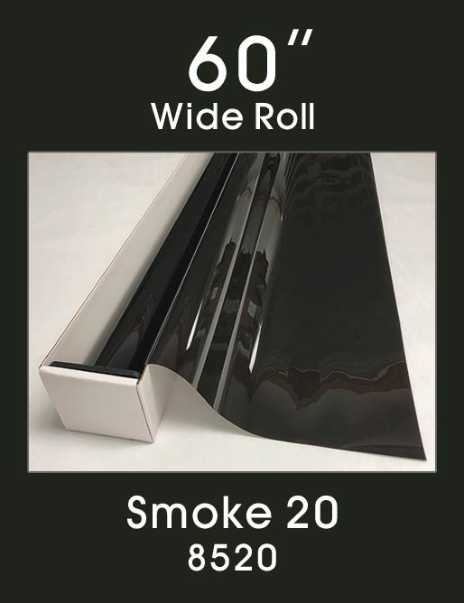 "Smoke 20 - 60"" - 8520 - Colored Window Film"