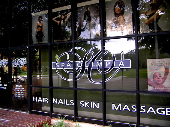 Hair Salons Amp Spas Storefronts Amp Graphics