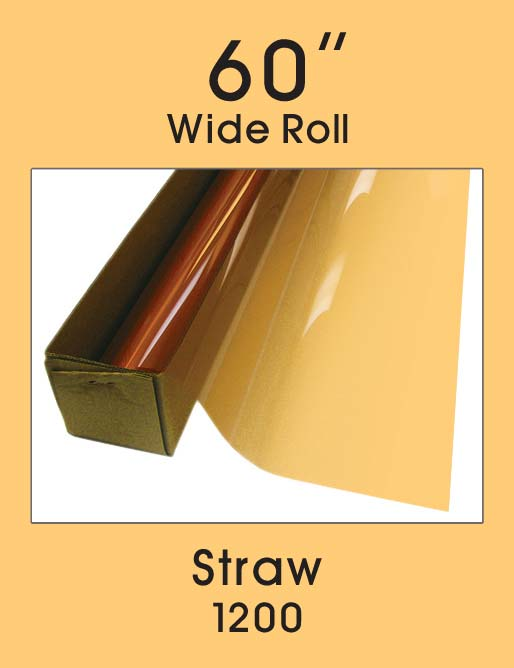 "Straw 60"" - 1200 - Colored Window Film"
