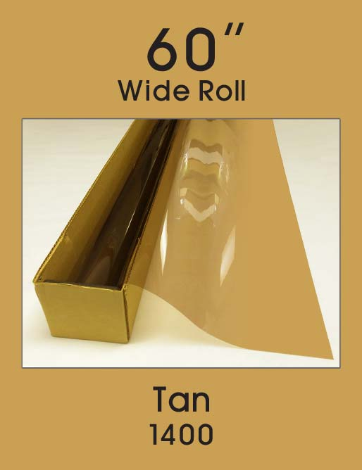 "Tan 60"" - 1400 - Colored Window Film"