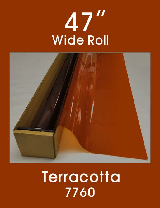 "Terracotta 47"" - 7760 - Colored Window Film"