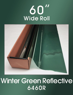 "Winter Green Reflective 60"" - 6040R - Colored Window Film"