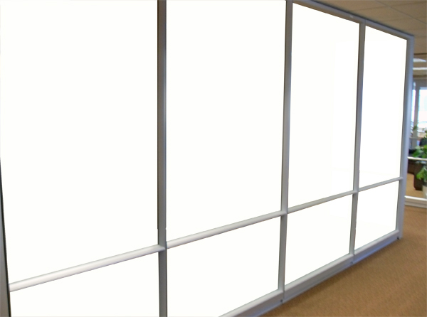 WHITE OUT (Solar Graphics Colored Window Film for Glass) - 9500