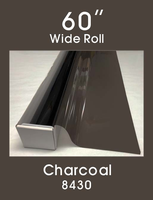"Charcoal 60"" - 8430 - Colored Window Film"