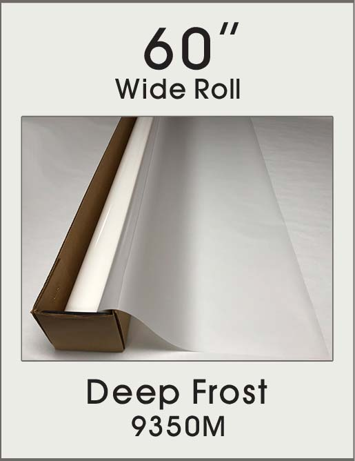 "Deep Frost - 60"" - 9350M - Colored Window Film"
