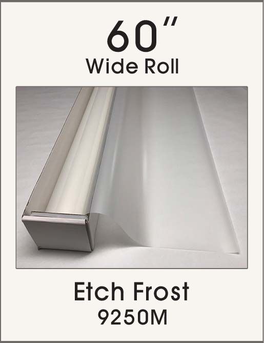 "Etch Frost - 60"" - 9250M - Colored Window Film"