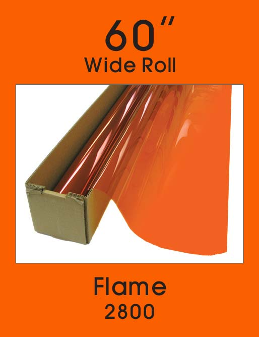 "Flame 60"" - 2800 - Colored Window Film"