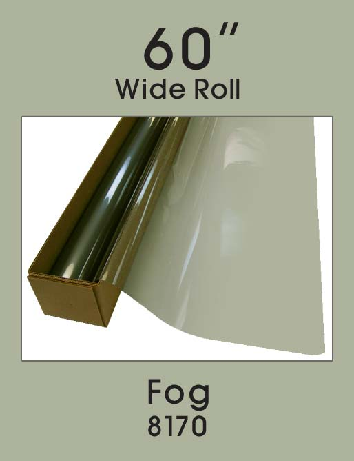 "Fog 60"" - 8170 - Colored Window Film"