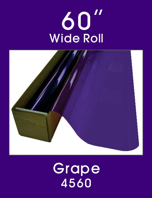 "Grape 60"" - 4560 - Colored Window Film"