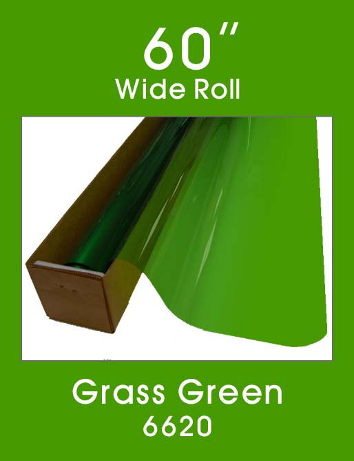 "Grass Green 60"" - 6620 - Colored Window Film"