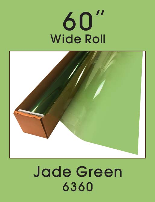 "Jade Green 60"" - 6360 - Colored Window Film"