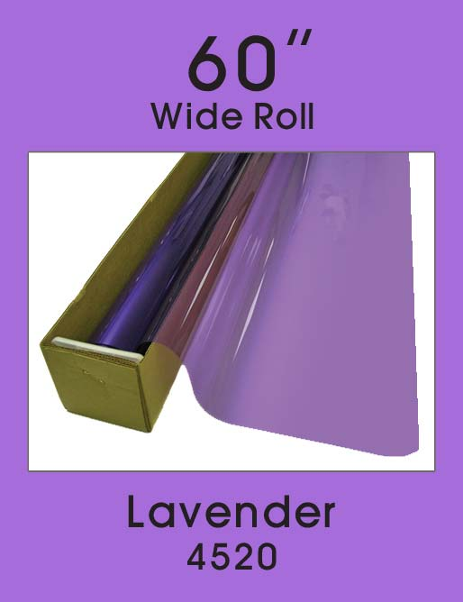 "Lavender 60"" - 4520 - Colored Window Film"